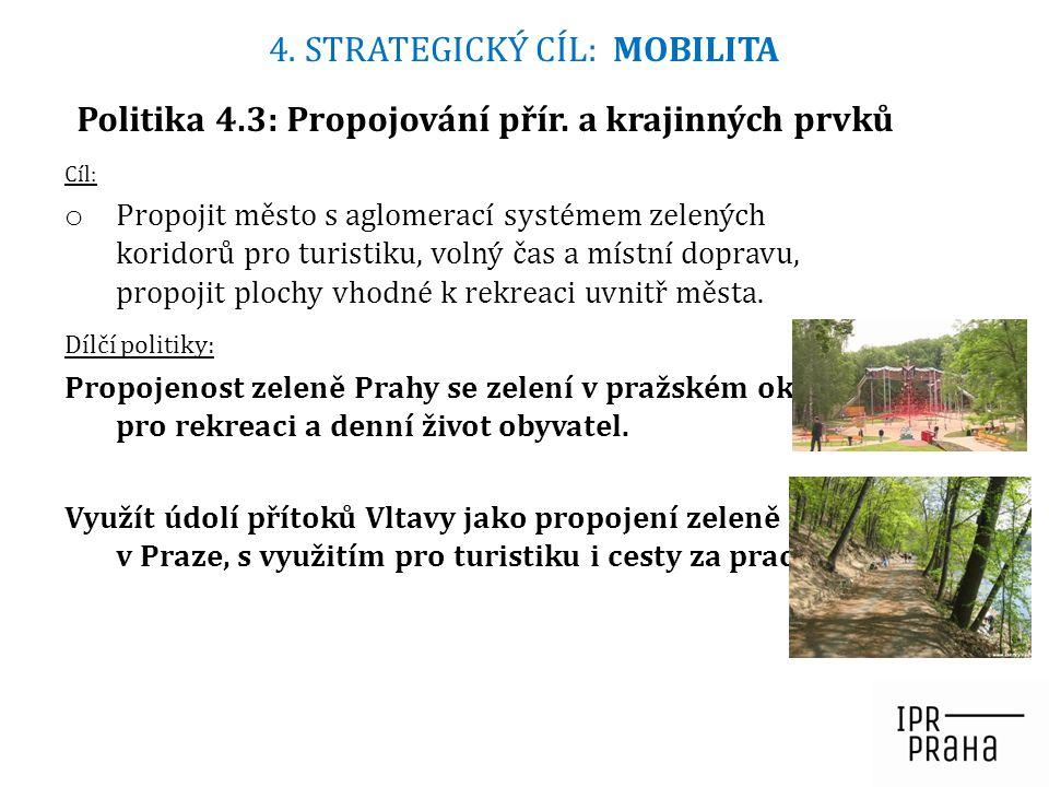 Cíl: o Propojit město s aglomerací systémem zelených koridorů pro turistiku, volný čas a místní dopravu, propojit plochy vhodné k rekreaci uvnitř měst