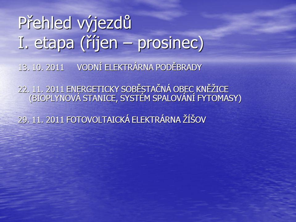Přehled výjezdů I.etapa (říjen – prosinec) 13. 10.