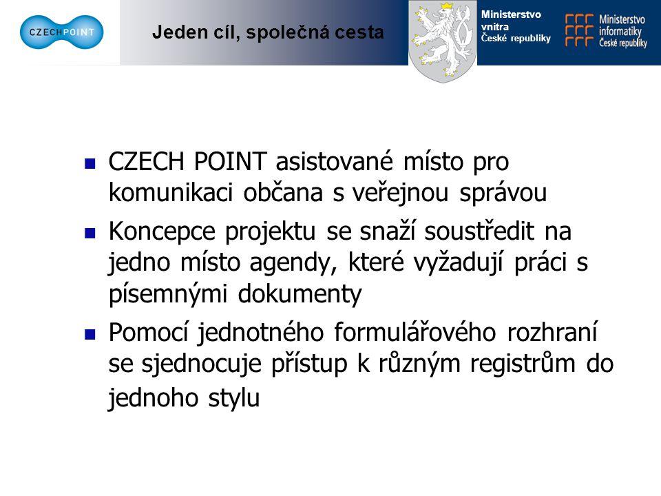 Jeden cíl, společná cesta Ministerstvo vnitra České republiky Postup projektu Pilotní projekt  Start 28.3.2007 na Praze 13  do konce dubna 35 obcí  Doba trvání 3 měsíce  Vyhodnocení do 31.