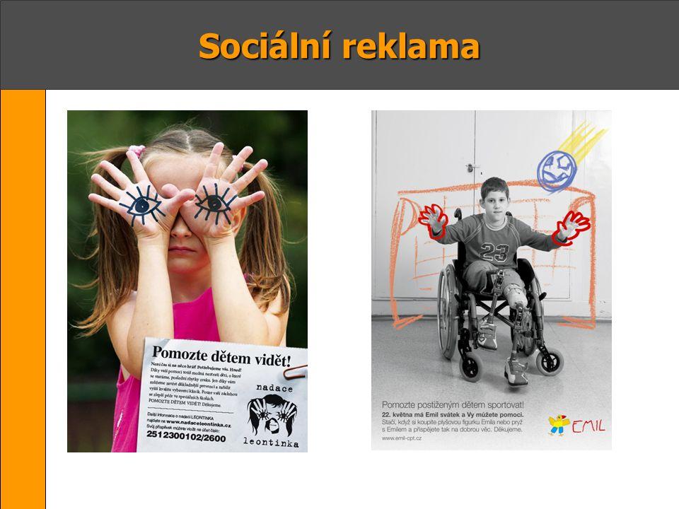 Odlišnosti komerční a sociální reklamy 1.