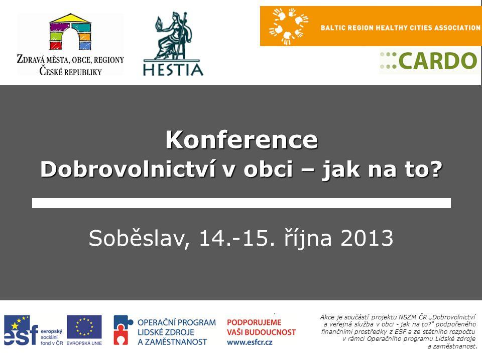 © NSZM ČR2. Projekt Zdravé město. místní Agenda 21 OSN