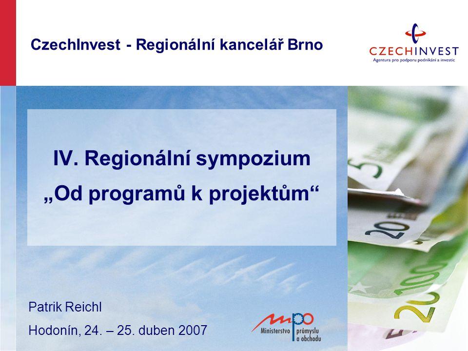 CzechInvest - Regionální kancelář Brno IV.
