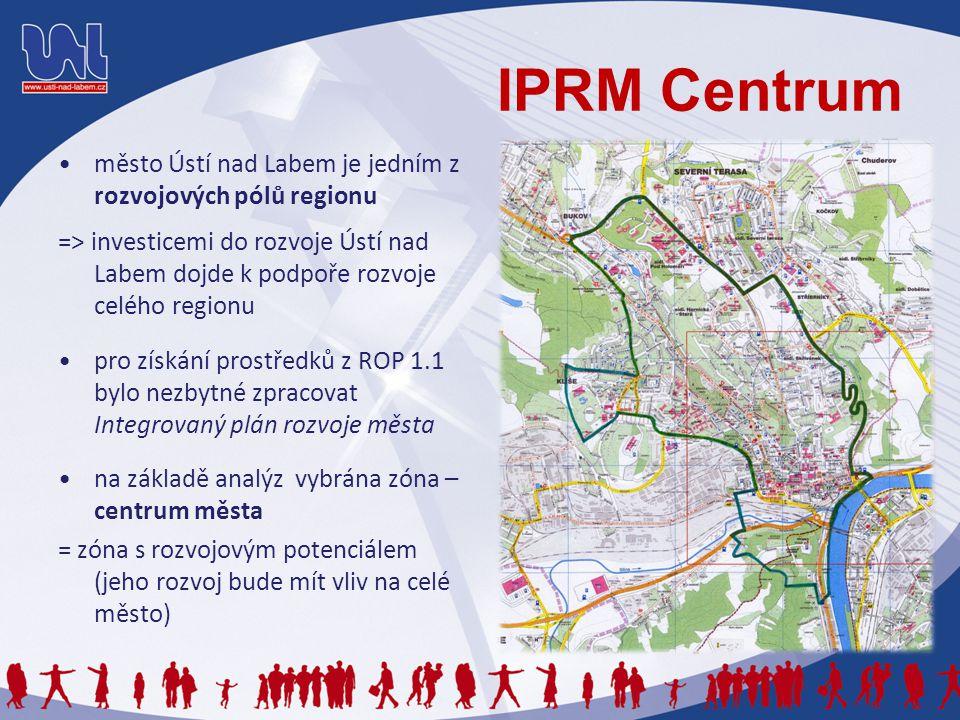 Realizace IPRM Město v první vlně připravuje projekty: Revitalizace městského centra – II.