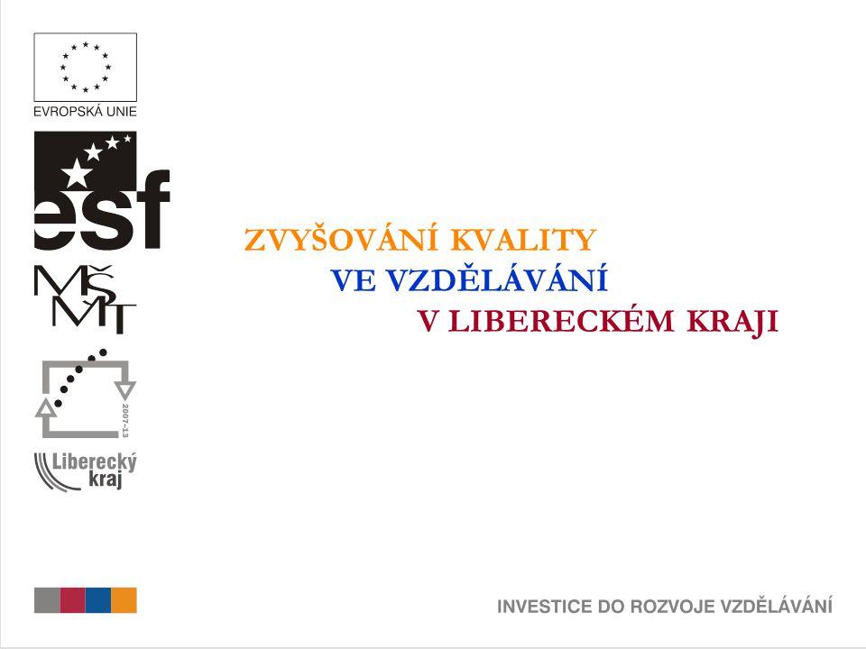 CÍL GLOBÁLNÍHO GRANTU  Zvýšení kvality počátečního, zejména základního a středního vzdělávání v Libereckém kraji CÍL OBLASTI PODPORY OPERAČNÍHO PROGRAMU  Zvýšení kvality počátečního vzdělávání CELKOVÁ VÝŠE FINANČNÍ PODPORY  172 473 995 Kč (do roku 2012) V PRVNÍ VÝZVĚ ROZDĚLENO  43 980 839 Kč / 8 projektů ALOKACE PRO 2.