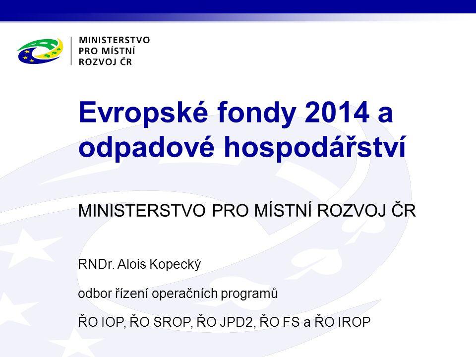 Stav v rámci předsednictví kyperského, dánského a irského Zdroj: http://www.mmr.cz/cs/Evropska-unie/Kohezni-politika-EU/Navrhy- novych-narizeni-kohezni-politiky-pro-obdobihttp://www.mmr.cz/cs/Evropska-unie/Kohezni-politika-EU/Navrhy- novych-narizeni-kohezni-politiky-pro-obdobi Operační program: Prioritní osa (Tematický cíl) Investiční priorita (článek, odstavec, písmeno nařízení) Specifický cíl Nařízení k fondům a OP