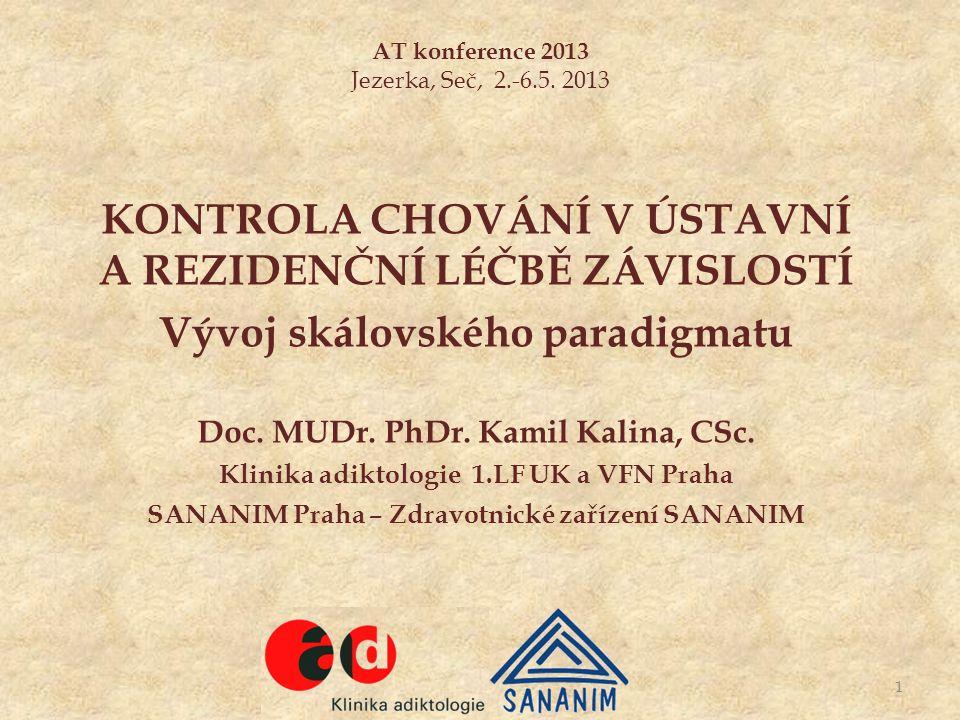 AT konference 2013 Jezerka, Seč, 2.-6.5.