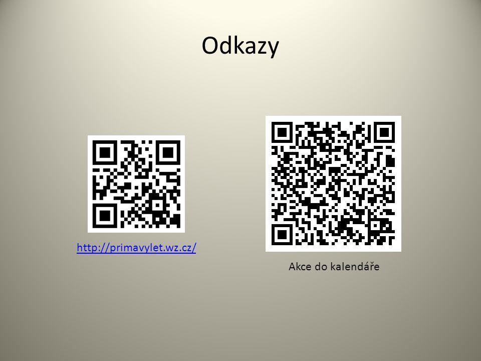 Odkazy Akce do kalendáře http://primavylet.wz.cz/
