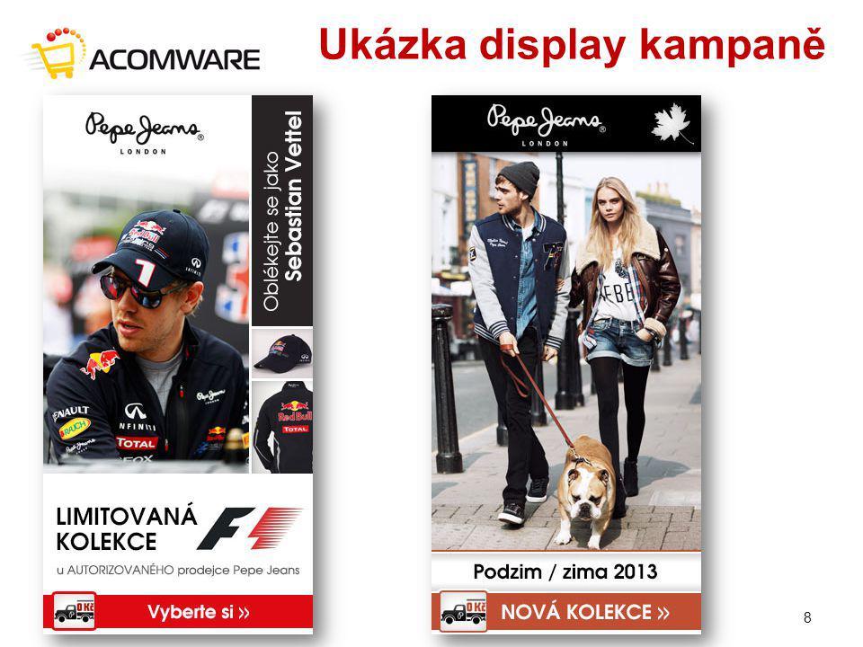Ukázka display kampaně 15. – 17. 4. 20148
