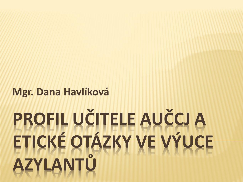 Mgr. Dana Havlíková