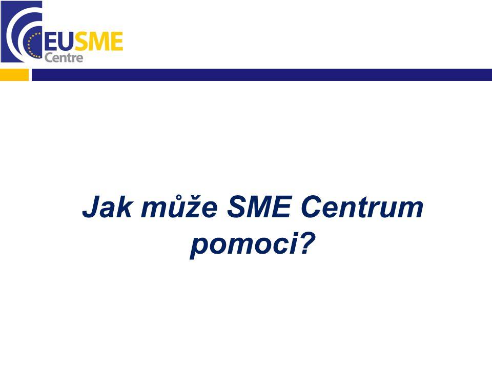 Jak může SME Centrum pomoci
