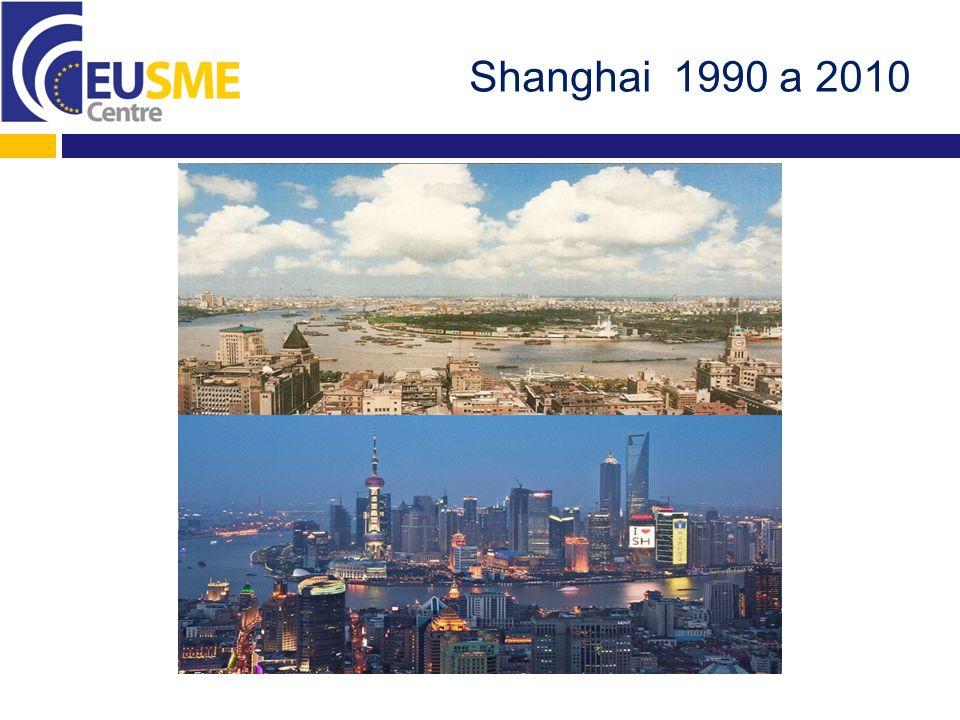 Shanghai 1990 a 2010