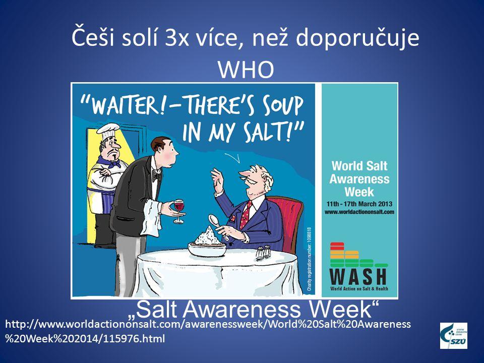 Sůl a jód Je člověk, který bude málo solit ohrožený nedostatkem jódu .