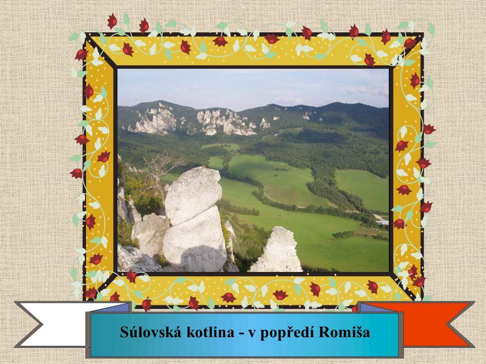 Súlovská kotlina - v popředí Romiša