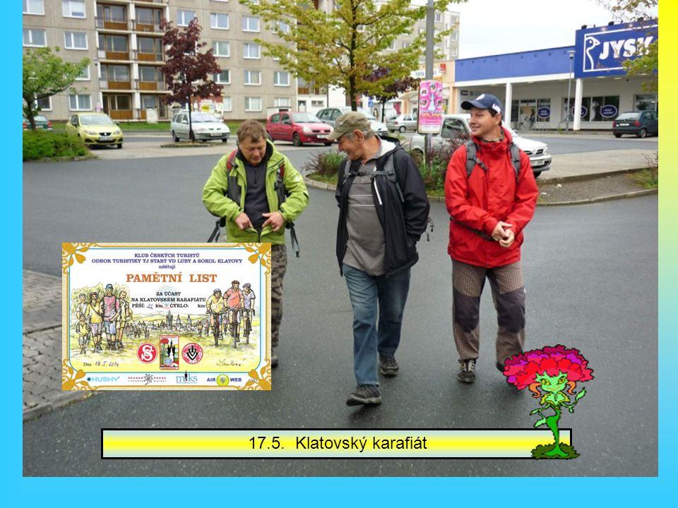 Václavové museli na Líňský maraton.