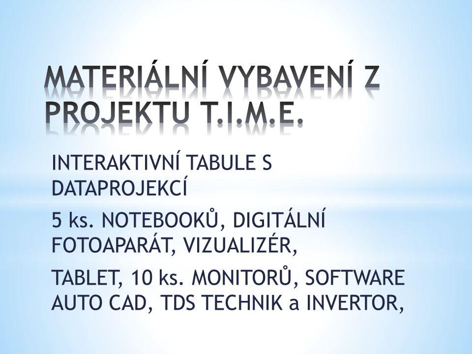 INTERAKTIVNÍ TABULE S DATAPROJEKCÍ 5 ks.