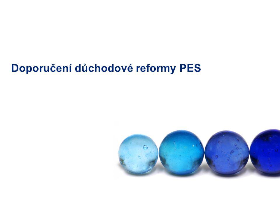 Doporučení důchodové reformy PES