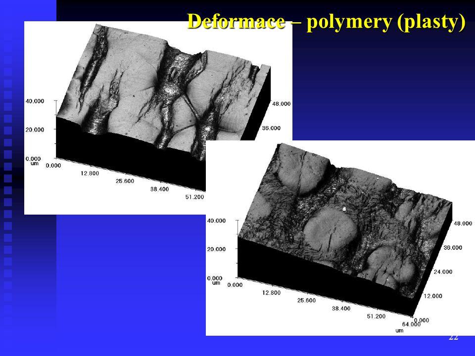 22 Deformace – polymery (plasty)