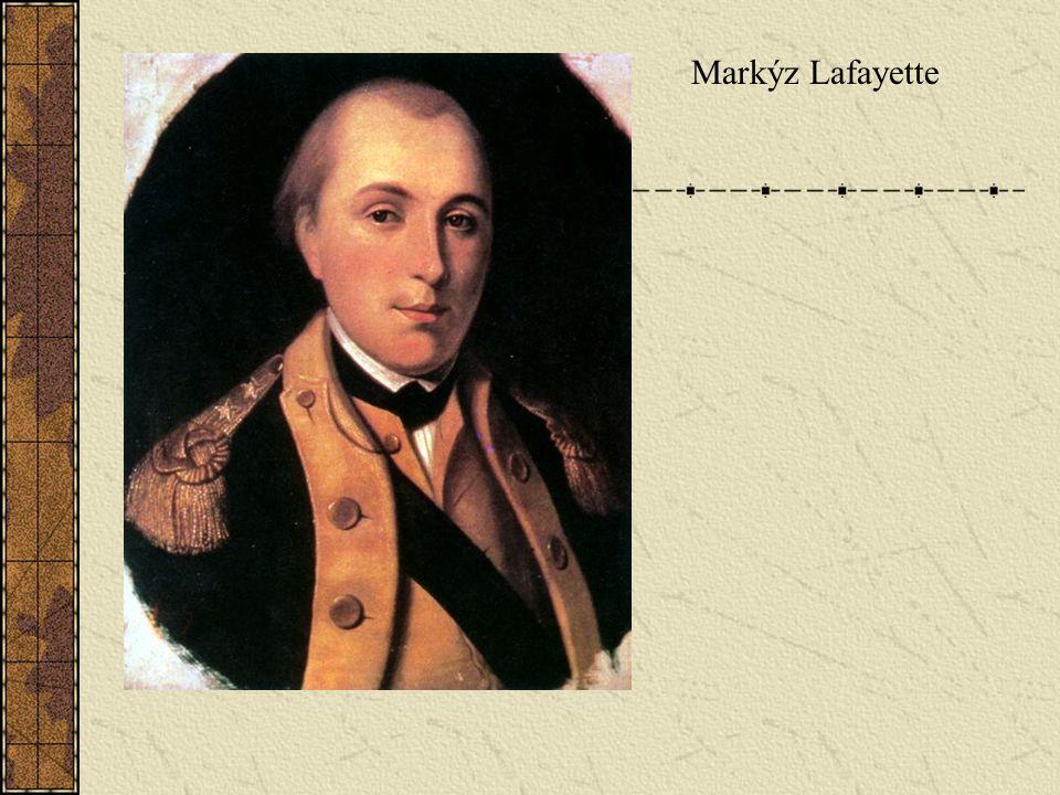 VZPOURA 3.STAVU 3.stav shání zbraně (vl.výroba, přepadávání skladů) Lidé jdou na barikády Vůdce stále Lafayette 14.7.
