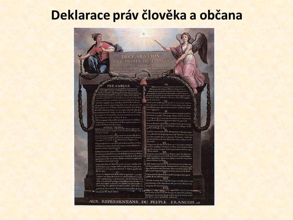 Prohlášení práv člověka a občana (26.8.