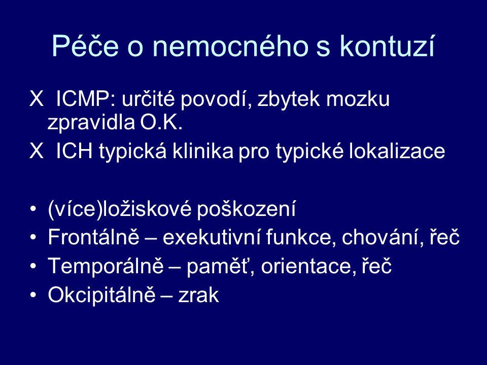 X ICMP: určité povodí, zbytek mozku zpravidla O.K.