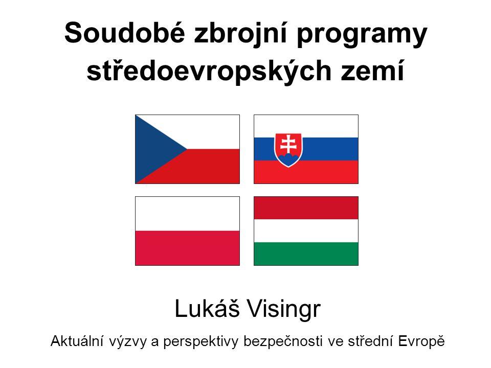 Soudobé zbrojní programy středoevropských zemí Lukáš Visingr Aktuální výzvy a perspektivy bezpečnosti ve střední Evropě