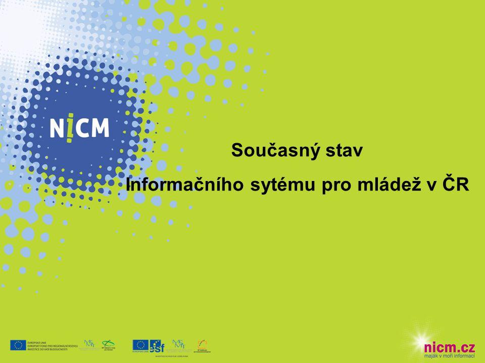 Současný stav Informačního sytému pro mládež v ČR