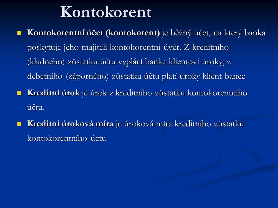 Kontokorentní účet (kontokorent) je běžný účet, na který banka poskytuje jeho majiteli kontokorentní úvěr.