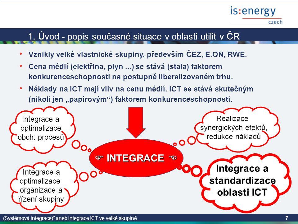 (Systémová integrace) 2 aneb integrace ICT ve velké skupině 7 1.