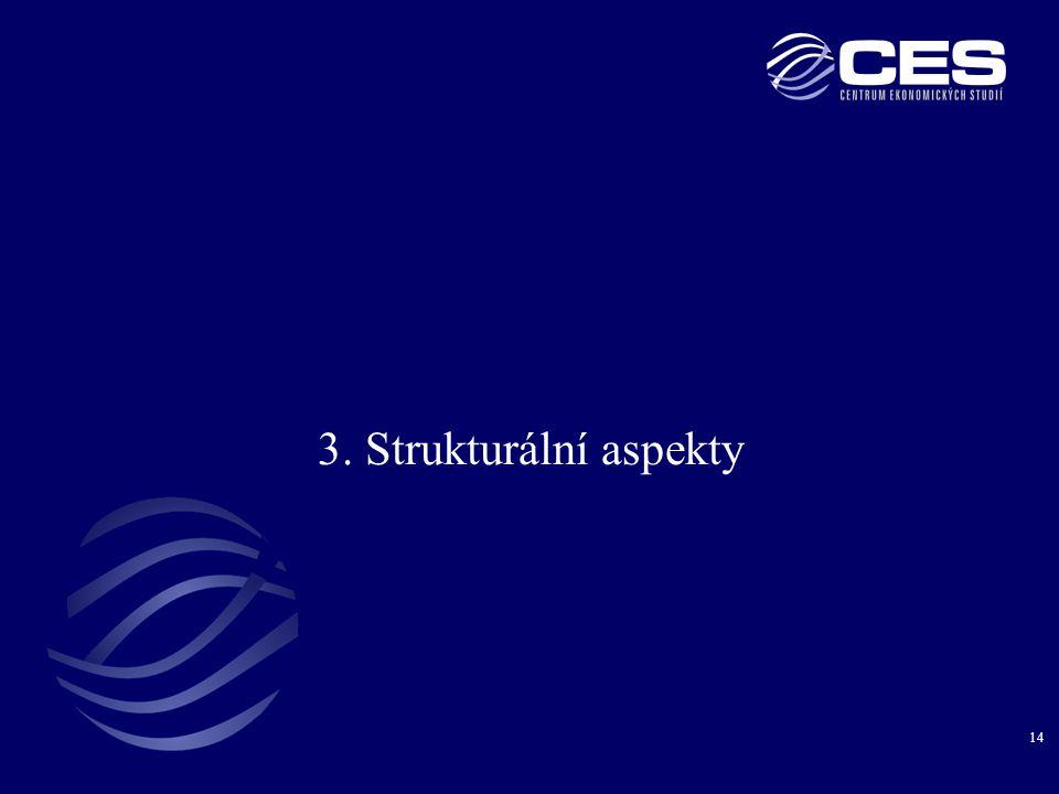 14 3. Strukturální aspekty