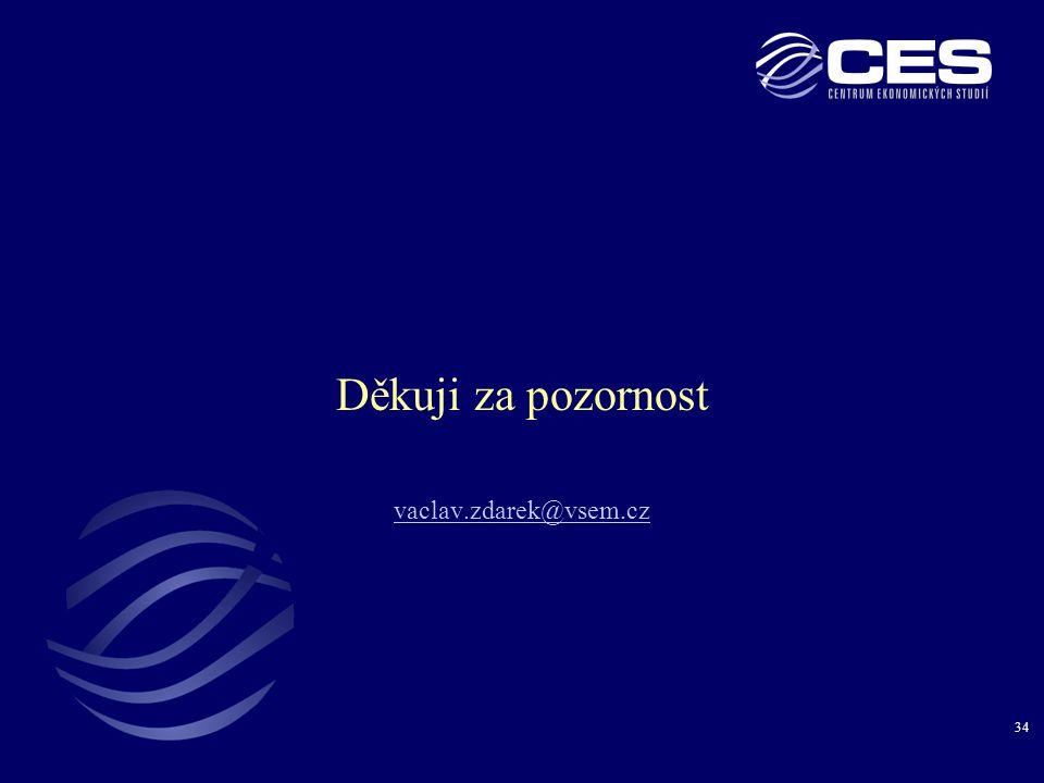 34 Děkuji za pozornost vaclav.zdarek@vsem.cz