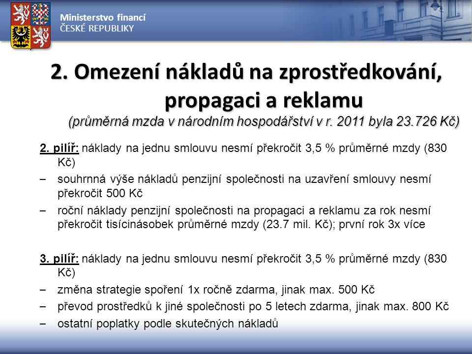 Ministerstvo financí ČESKÉ REPUBLIKY ZÁKLADNÍ INFORMAČNÍ TOKY - II.