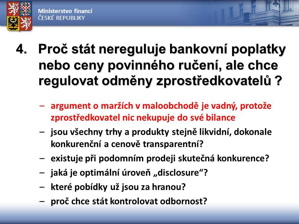 Ministerstvo financí ČESKÉ REPUBLIKY 5.