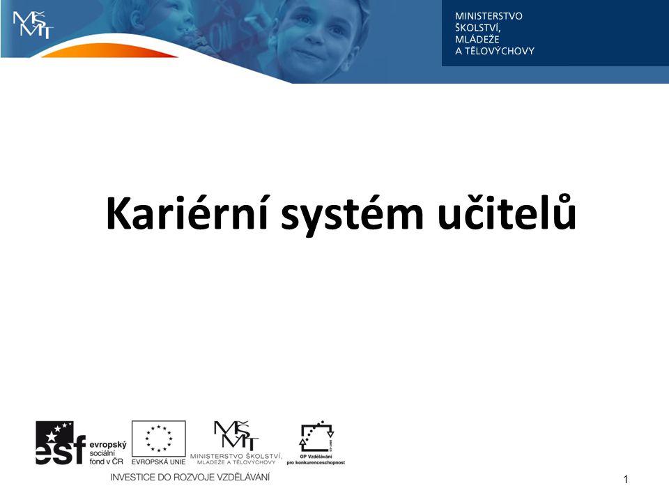 Kariérní systém učitelů 1