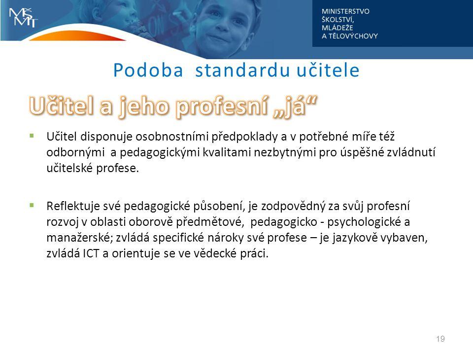 Podoba standardu učitele 19