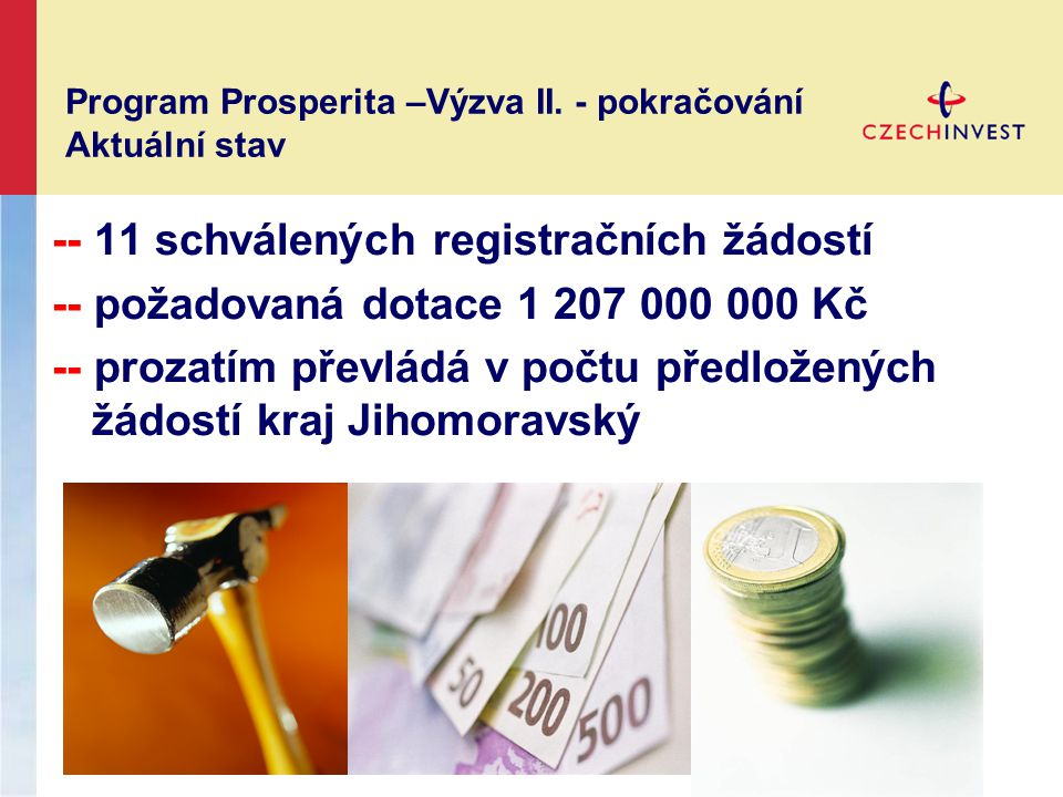 Program Prosperita –Výzva II.