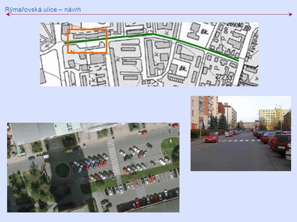 Rýmařovská ulice – návrh