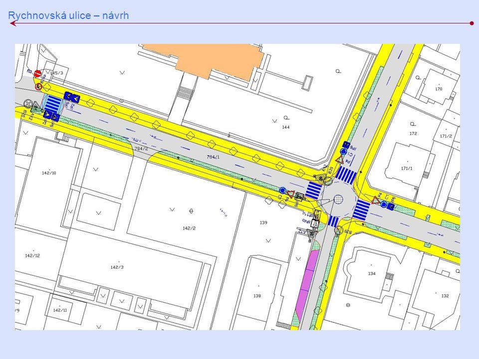 Rychnovská ulice – návrh