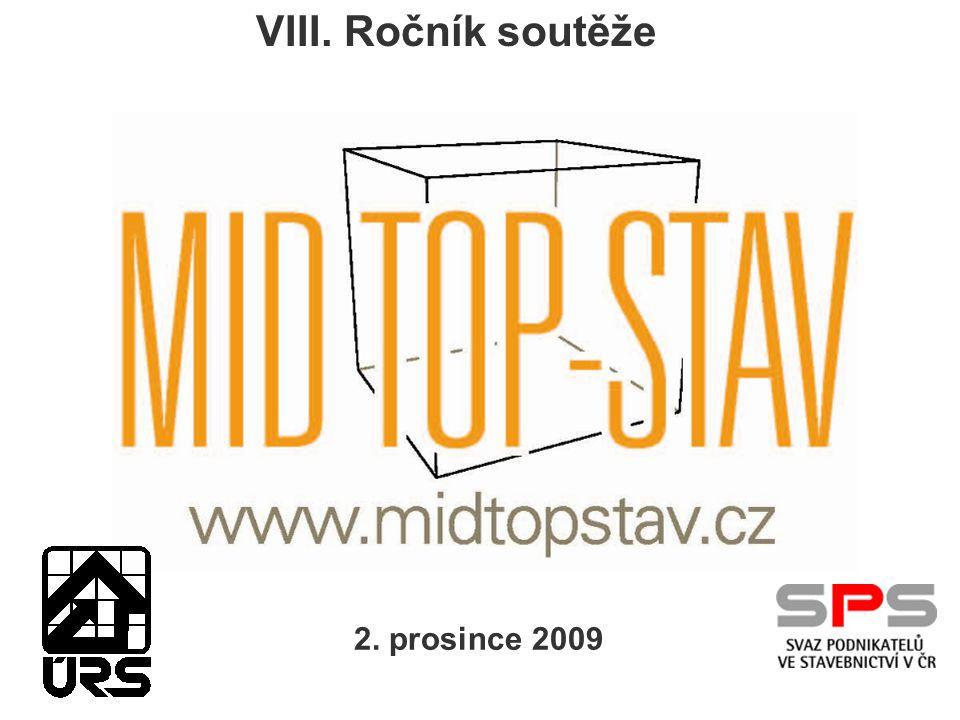 VIII. Ročník soutěže 2. prosince 2009