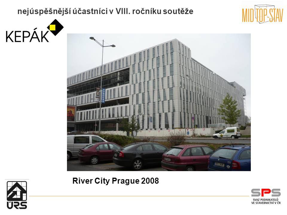 nejúspěšnější účastníci v VIII. ročníku soutěže River City Prague 2008