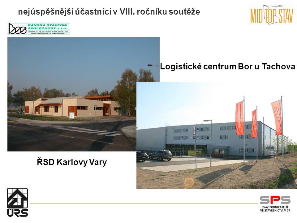nejúspěšnější účastníci v VIII. ročníku soutěže Logistické centrum Bor u Tachova ŘSD Karlovy Vary