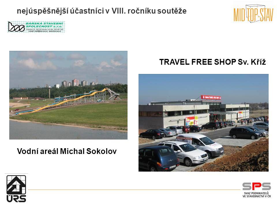 nejúspěšnější účastníci v VIII. ročníku soutěže TRAVEL FREE SHOP Sv. Kříž Vodní areál Michal Sokolov