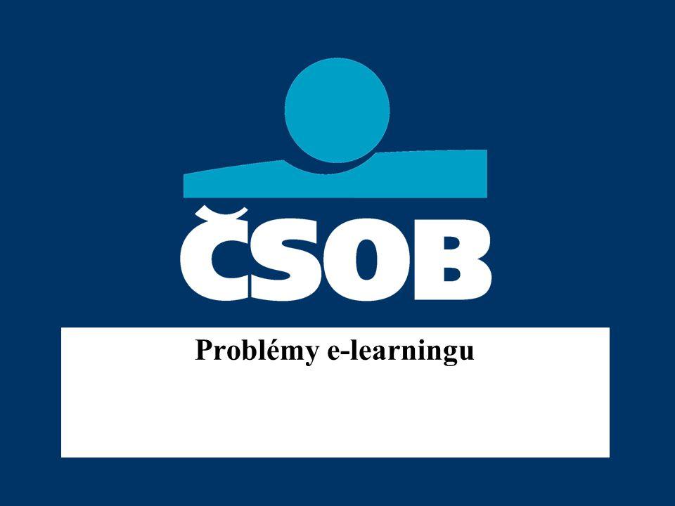 Problémy e-learningu