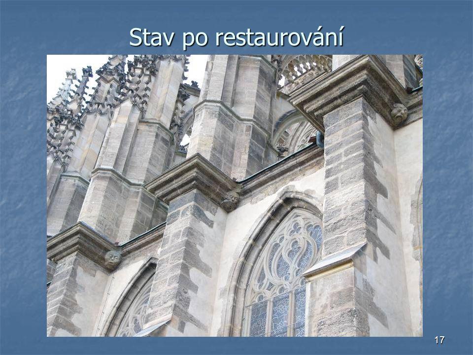 17 Stav po restaurování