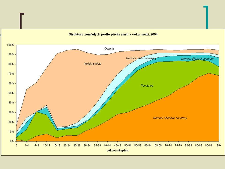 Ukazatele nemocnosti Incidence Prevalence Uzdravení Úmrtí Prevalenční nádrž Počet nových onemocnění v časovém období Výskyt existujících onemocnění v určitém okamžiku