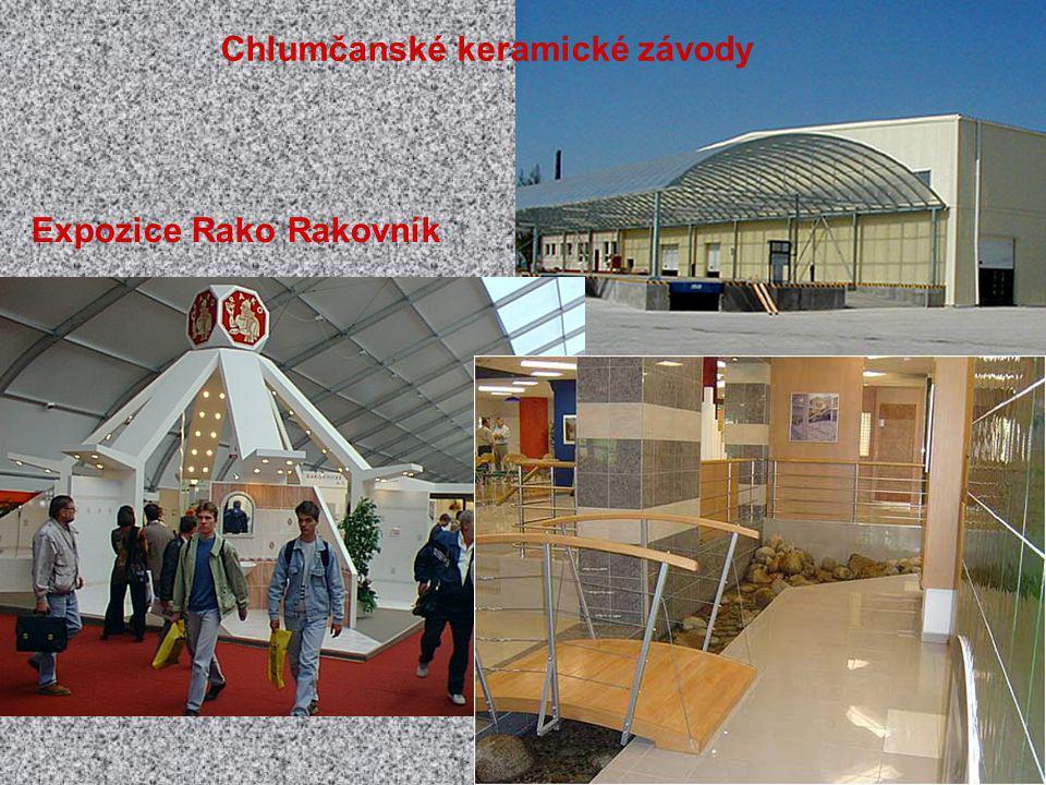 Chlumčanské keramické závody Expozice Rako Rakovník