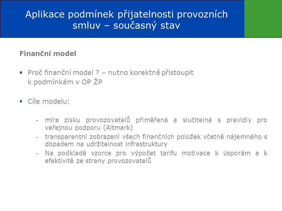 Finanční model  Proč finanční model .