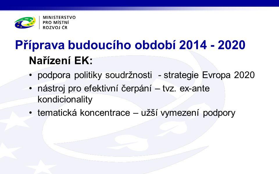 Nařízení EK: podpora politiky soudržnosti - strategie Evropa 2020 nástroj pro efektivní čerpání – tvz.