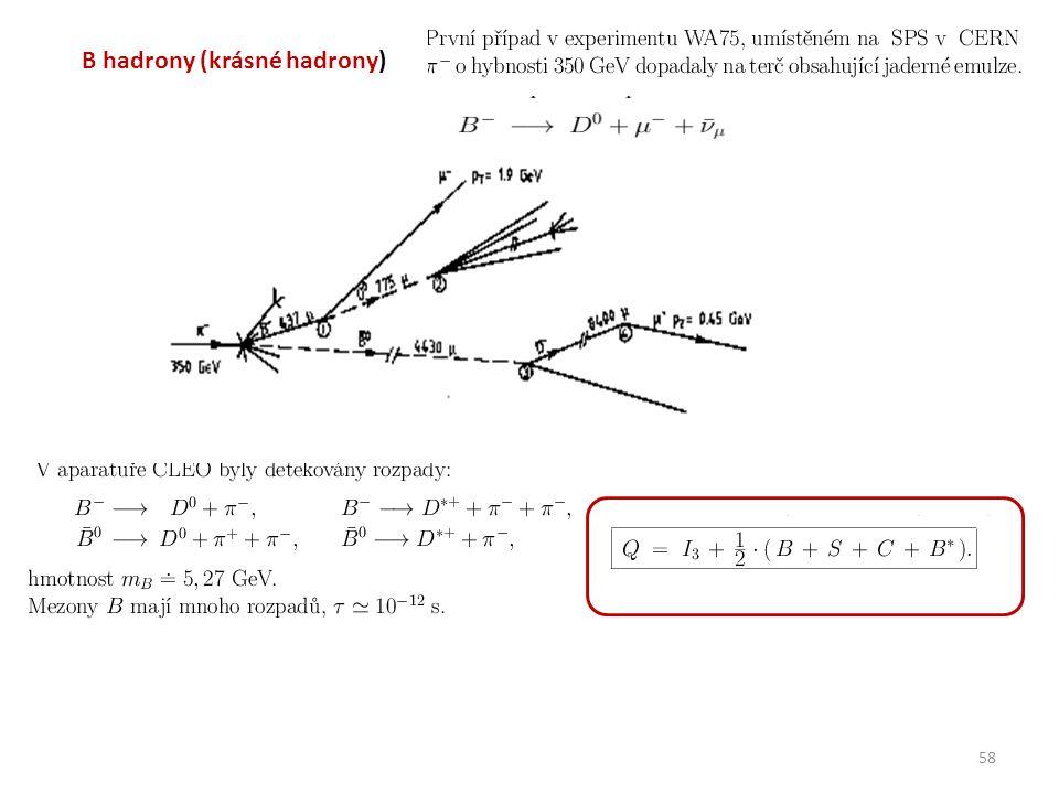 58 B hadrony (krásné hadrony)