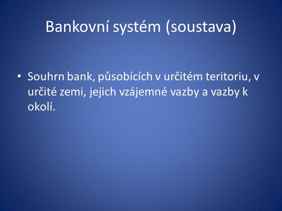 Appendix Přímé bankovnictví, elektronické bankovnictví Eliminací tradičních způsobů přístupu k účtu a nákladů s nimi spojenými si může dovolit svým klientům nabízet vyšší úroky a nižší administrační/servisní poplatky.
