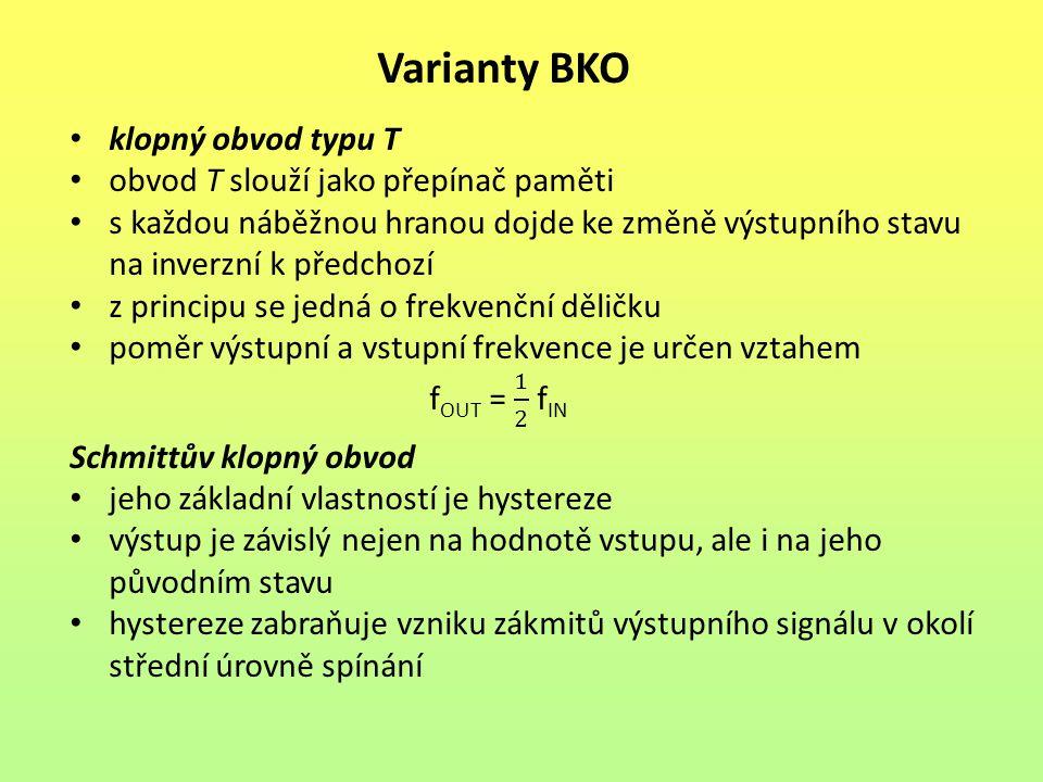 Varianty BKO